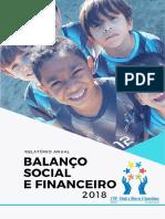 Relatório Anual e Balanço Patrimonial 2018