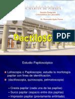 Dactiloscopia y Teratología Dactilar