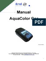 Manual Aquacolor Cor - IP67