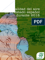 Informe Calidad Aire 2018