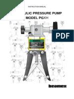 Beamex PGXH Pressure Pump