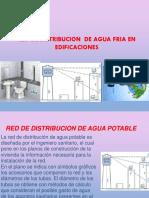RED DE DISTRIBUCION DE AGUA FRIA.pptx
