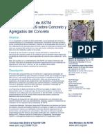 Comité ASTM Concreto y Agregados