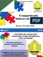 AUTISMO año escolar 2017-2018.ppt