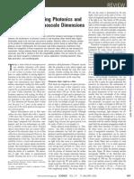 Plasmonics Merging Photonics and Electronics at Nanoscale Dimensions