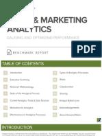 Sales Marketing Analytics Benchmark Report