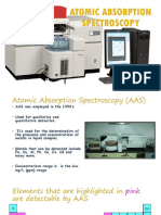 Atomic Absorption Spectroscopy ( Ac Slide)
