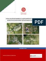 Informe Final Legalizacion Asentamientos