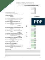 3.0 Diseño desarenador N°01
