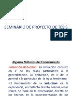 Seminario Proyecto Tesis- 2019
