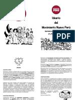 Ideario Nuevo Perú