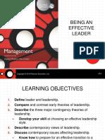 Management Ch5 Leading