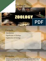 Scope of Zoology