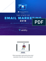The State of Email Marketing Benchmark Report 2019