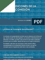 CONDICONES DE LA COHESIÓN.pptx