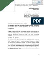 CASACION FUNDADA 25303