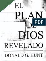 El Plan De Dios Revelado Donald G. Hunt