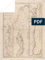 Mapa GUAJANA of Den Wilden-Kust