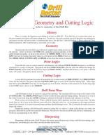 Twist Drill Geometry