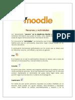 Resumen de Principales Recursos y Actividades de Moodle