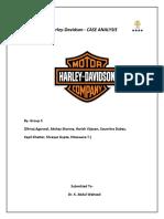 Group 5 - Harley Davidson