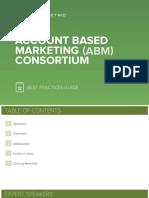 Account Based Marketing Abm Consortium