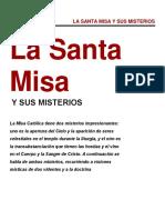 La Santa Misa y sus Misterios
