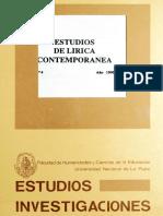 NDICE - Hugo W. Cowes - El problema del referente en el discurso lírico de Pedro Salinas textos de Juan Gelman - Miguel Dalmaroni - Inestabilidad y rcconfonñacíón del sujeto en los primeros Trilce