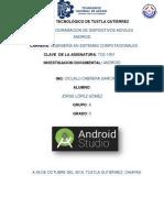 Reporte resumen android