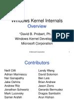 Windows Kernel Overview