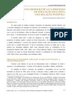 Rosana Carla Gonçalves Gomes Cintra - Gestão Democrática e o Processo de Educação Inclusiva