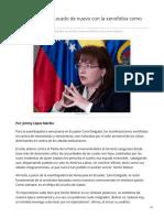 Psuv.org.Ve-El Libertador Es Atacado de Nuevo Con La Xenofobia Como Arma Imperial
