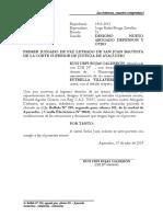 Designa Nuevo Abogado, Domicilio Procesal y Casilla Electrónica