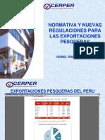 1. Normativa y Nuevas Regulaciones Para Las Exportaciones Pesqueras - CERPER[1]