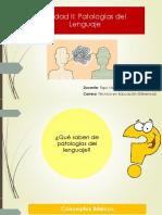 Clase N° 6 Patologías del lenguaje primarias y secundarias.pdf