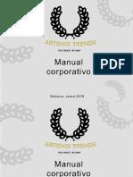 BORRADOR MANUAL DE IDENTIDAD ARTEMIS TREND
