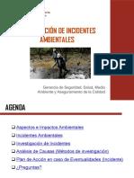 1° Capacitación - Incidentes Ambientales