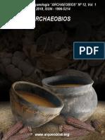 Revista Archaeobios Nro 12-2018