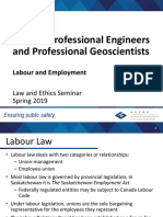 3.6 Law - Labour and Employment Spring 2019