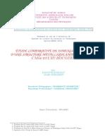 Étude Comparative de Dimensionnement d'une Structure Métallique,Entre Les Règles Cm66 Et l Eurocode3 A