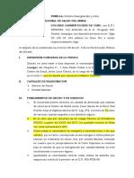 Reasignación Dolores Carmen Flores de Cano