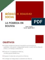 Pobreza en Bolivia