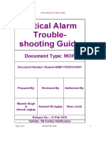 Critical Alarms for Huawei GSM