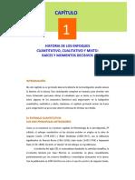 Historia Enfoques Cualitativo, Cuantitativo y Mixto