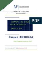 Cours Fiscalité Mehdi ELLOUZ 2019