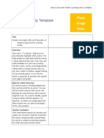 4.1x - Learning Activity Template