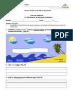 Guía Ciencias 5 Movimientos de Las Aguas Oceánicas
