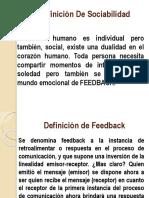 Defincion de La Sociedad Diapositiva Sociabilidad de La Persona.