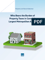 Who Bears the Burden of Property Taxes in Canada - Fraser Institute