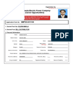 Fawad Gepco Form